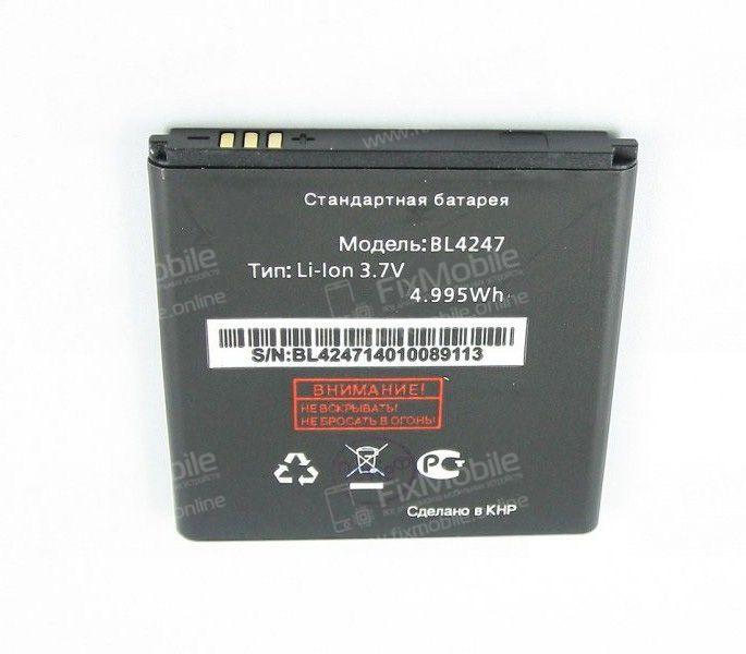 Аккумуляторная батарея для Fly Miracle (IQ442) BL4247