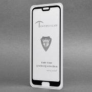 Защитное стекло для Huawei Honor 10 (полное покрытие)(черное) — 2